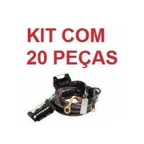 Kit C/ 20 Chicote Ignição Eletr. Gol Voyage Parati 7 Pinos