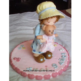 Muñecas Estilo Sarah Kay Adornos De Torta Porcelana Fría