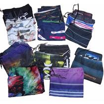 Kit 6 Bermudas Shorts Tactel Surf Praia Vários Modelos Cores