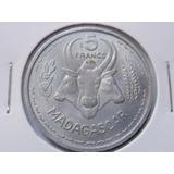 Madagascar 5 Francs 1953 Colônia Francesa Eal00127