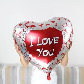 Tarjetas De San Valentin Gigantes Mayoreo Globos en Estado De
