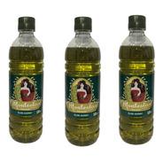 Aceite Blend Monteolivo Gourmet X 500 Ml Pack 3 Uni