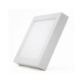Paflon De Sobrepor Quadrado Tipo Painel Led 18w Branco Frio