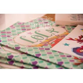 La Sirenita Libros Para Colorear Crayones Stickers X 10 Unid