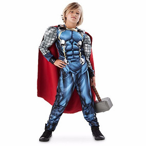 Marvel Disfraz Thor Traje Niños Talla 11/12 Disney Store