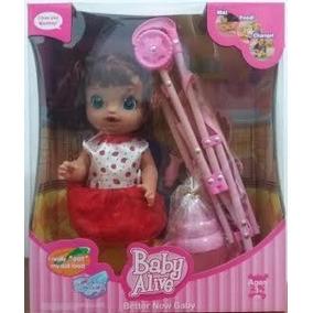 Baby Alive - Fala, Come Faz Xixi E Cocô Comilona Boneca X