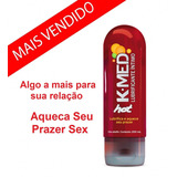Gel Lubrificante Intimo Kmed Hot - Esquenta Muito - 200ml