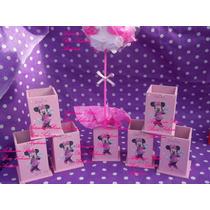 Souvenirs Y Centros De Mesa,minnie,la Casa Mickey Mouse,bebe