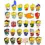 Simpsons Cubeecraft Papercraft 40 Diseños Imprimir Y Armar