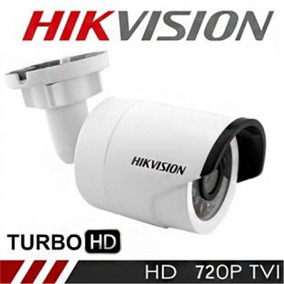 Câmera Infra Hikvision Turbo Hd 20mt Hd-tvi 1.0mp 720p 3.6mm