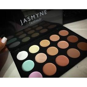 Paleta Maquiagem Corretivo Base 15 Mac Jasmyne
