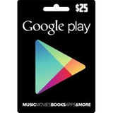 Tarjeta Google Play $25 - Ejartech