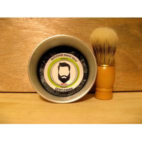 Kit Para Rasurar / Brocha Barbero, Jabon Para Afeitar