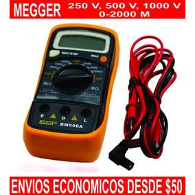 Megger Medidor De Aislamiento De Motores Transformadores