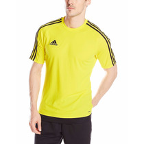 Camiseta De Fútbol Adidas Amarilla Xxl