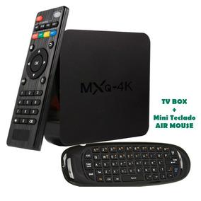 Smart Tv Box Mx9 Mxq Ultra 4k Tvbox + Mini Teclado Air Mouse