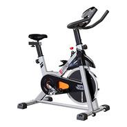 Bicicleta Spinning G-fitness Fija Usuario 120 Kg Disco 10 Kg