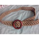 Cinturon Mujer Macrame