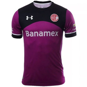 Playera Toluca Alterno 15/16 Niño Under Armour Ua1577