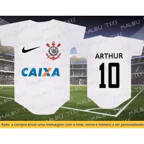 Camiseta Sou Gordo Por Ti Corinthians Personalizada - Roupas de Bebê ... 97b244fe2c2c4