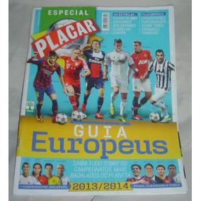 Revista Placar - Especial Guia Europeus 2013/2014 Nº1382 -a