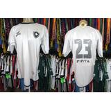 79cfa9a6be Botafogo 2003 Terceira Camisa Tamanho G Número 23.