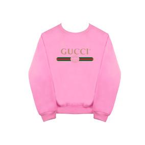 Sudadera Gucci Moda Rosa-rojo-camuflaje-gris Envio Gratis