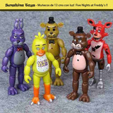 Muñecos Five Nights At Freddy 13 Cm C/luz Zona Sur Nuevos!!!