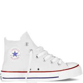 Converse All Star Chuck Taylor Blanco Niños 18 Al 21 Orginal