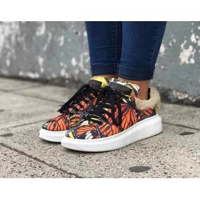 Zapatillas Plataforma Muka Mujer N 35
