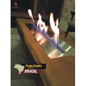 Lareira Ecológica Álcool E Etanol (queimador 60 Cm Inox 304)