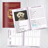 Pasaporte Canino Tarjeta Control Vacunas Mascotas