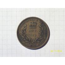 Essequibo Y Demerari Colonia Britanica 1 Stiver 1813 Muy Lin