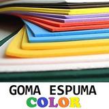Goma Espuma Placas De Color 2mx1mx1cm Fabrica