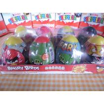 Huevo Sorpresa Angry Birds 8pz Plastico