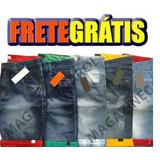 Kit C/10 Bermudas Jeans Masculino Frete Grátis Revenda Linda