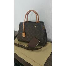 Bolsa Louis Vuitton Monogram Montaigne Mm Original