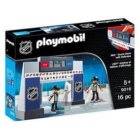 Reloj Playmobil De La Nhl Con 2 Árbitros