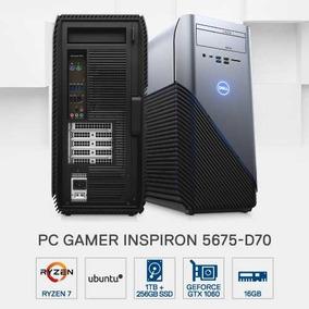 Pc Gamer Dell 5675-d70 Amd R7 16gb 1tb+256gb 1060 6gb