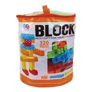 Bloks Bolsa Grande De Construcción 320 Pcs Super Completo