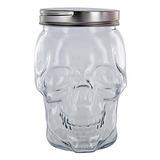 Frasco Cráneo Calavera Calaca Skull Mason Jar