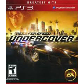 Need For Speed Undercover Ps3 Disco Fisico Original Nuevo