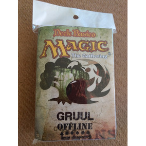 Deck De Magic - Grull Português + Manual Regras