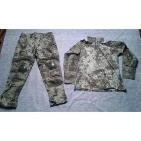 Uniforme Camuflado Jersey + Calça Tática Cotoveler Joelheira