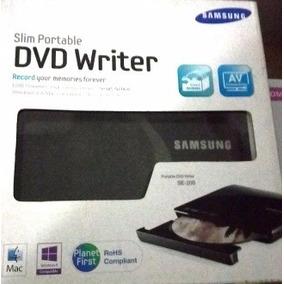 Dvd Externo Slim Portatil Samsung Modelo Se208db-tsbs