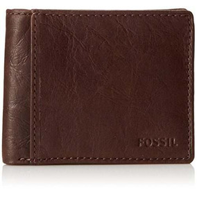 7dbd4bbf2e38 Billeteras Fossil Mens Passcase Wallet Brown Ml3222201 - Billeteras ...