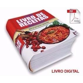 E-book 11 Livros De Receitas Culinárias + Brinde - Envio Já