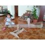 Sube Y Baja Para Niños, Fabricado 100% En Paletas Recicladas