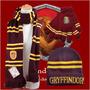 Guantes Bufanda Gorro Gryffindor Harry Potter - Enki