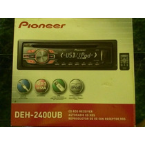 Reproductor Pioneer Mod. Deh-2400ub